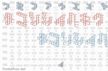 Demon Cubic Block NKP Font