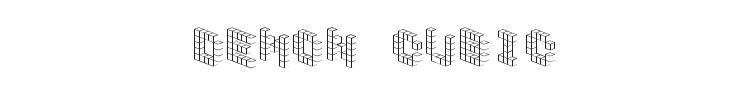 Demon Cubic Block