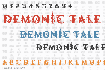 Demonic Tale Font
