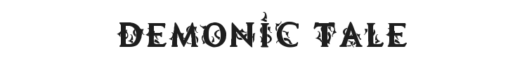 Demonic Tale Font Preview