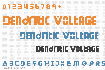 Dendritic Voltage Font