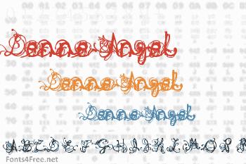 Denne Angel Font