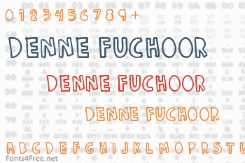 Denne Fuchoor Font
