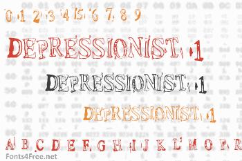 Depressionist 1 Font