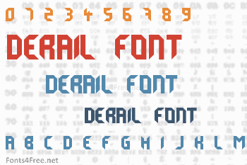 Derail Font