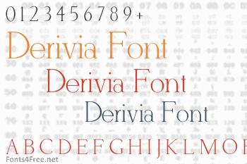 Derivia Font
