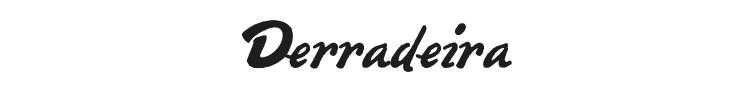 Derradeira Font Preview