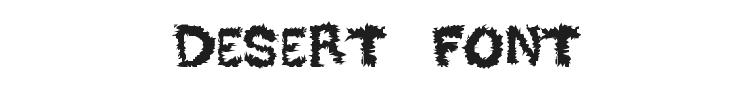 Desert Font Preview