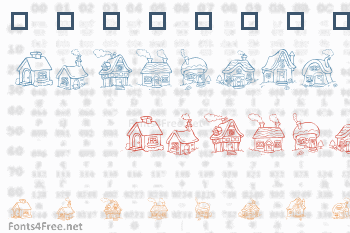 Destiny Little Houses Font