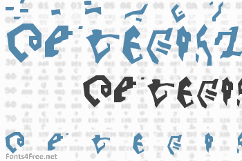 Destronic Grafitti Font