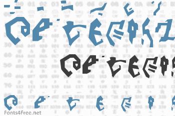 Destronic Grafitti Font