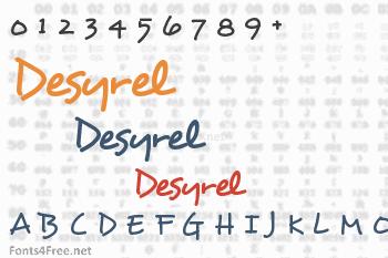Desyrel Font