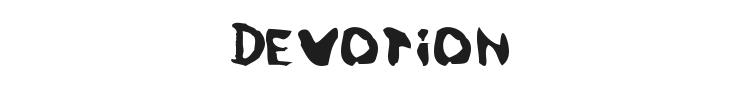 Devotion Font
