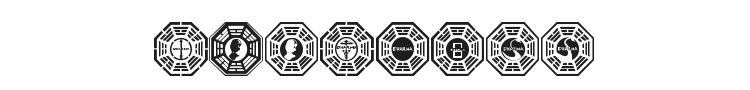 Dharma Initiative Logos Font