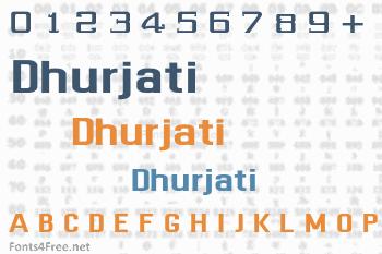 Dhurjati Font