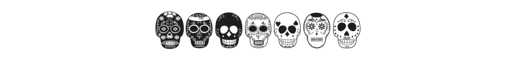 Dia de los Muertos Font