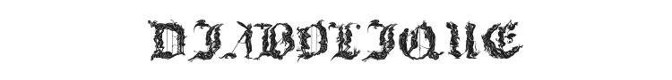 Diabolique Font Preview