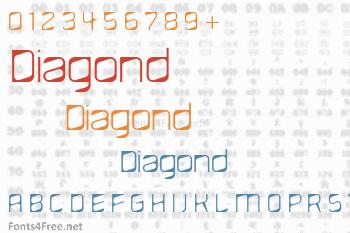 Diagond Font