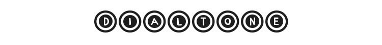 Dialtone Font Preview