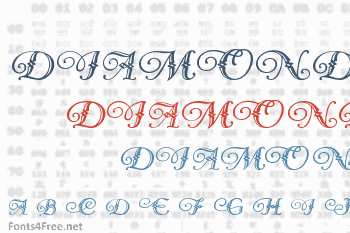Diamond Dreams Font
