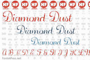 Diamond Dust Font