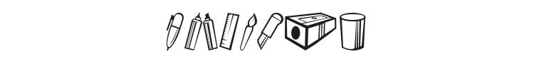 Dibujos en Linea Font Preview