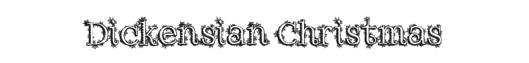 Dickensian Christmas Font Preview