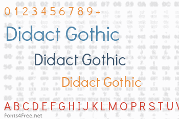Didact Gothic Font