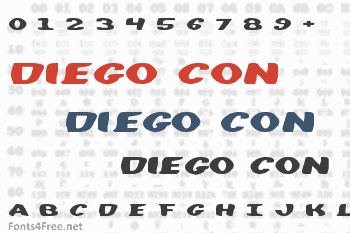 Diego Con Font