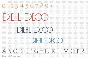Diehl Deco Font