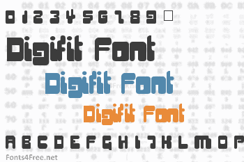 Digifit Font