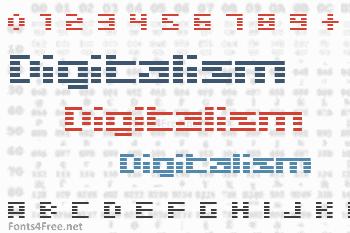 Digitalism Font