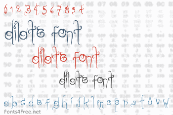 Dilate Font