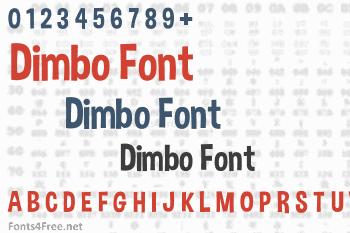 Dimbo Font