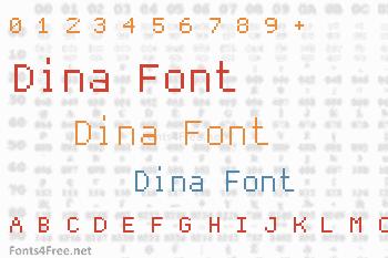 Dina Font