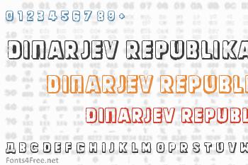 Dinarjev Republika Font