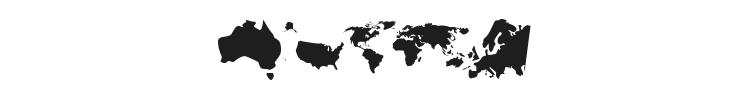 Ding Maps Font