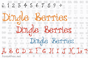 Dingle Berries Font