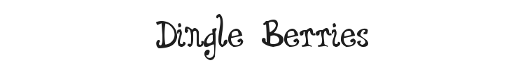 Dingle Berries Font Preview