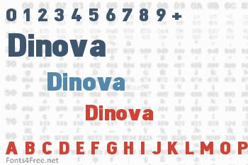 Dinova Font