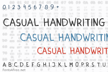 Dinski Casual Handwriting Font