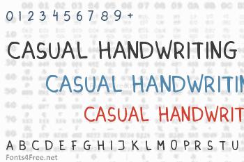 Dinski Casual Handwriting Font