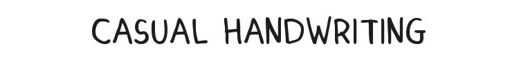 Dinski Casual Handwriting