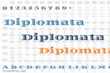Diplomata Font