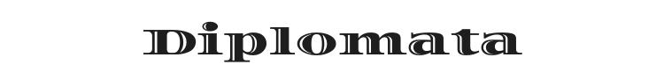 Diplomata Font Preview