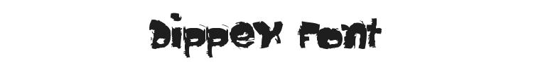 Dippex Font