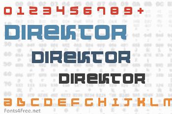 Direktor Font