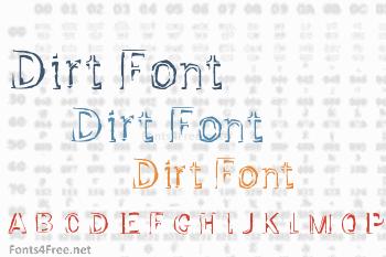 Dirt Font