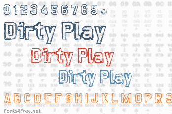 Dirty Play Font