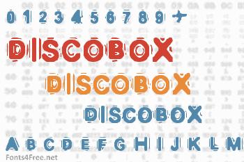 Discobox Font